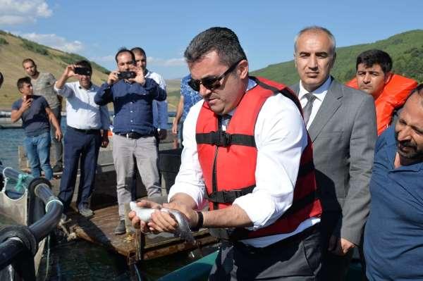 Denizi olmayan Erzurumdan balık üretimi