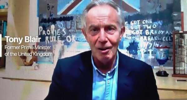 İngiltere eski Başbakanı Tony Blair, Türkiyenin de yoğun bir şekilde yürüttüğü aşı seferberliğinin önemine de