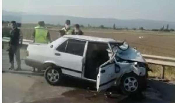 Patlayan lastik kazaya sebep oldu: 1 ölü, 2 ağır yaralı