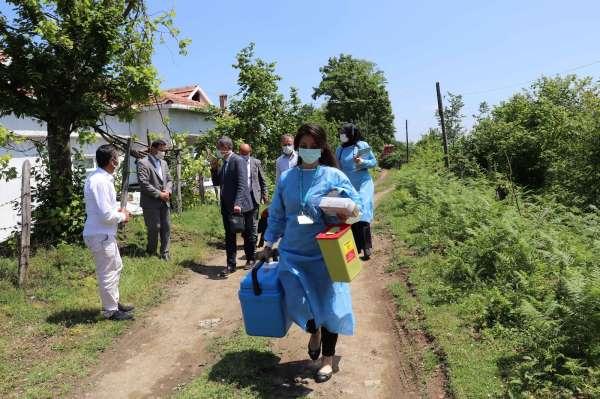 Samsunda aşı seferberliği: 400ün üzerinde noktada aşı yapılıyor