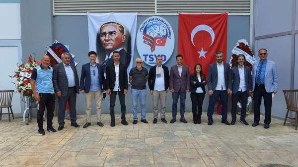 TSYD Trabzon Şubesine ilk ziyaret Mustafa Hacıkerimoğlundan