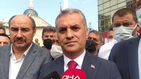 Vali Ustaoğlu Yomra Belediye Başkanı Bıyıka düzenlenen silahlı saldırı sonrası olay yerine geldi