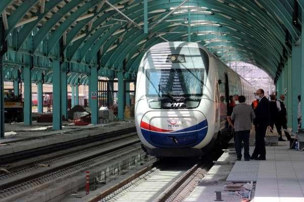 Yüksek Hızlı Tren Sivasta