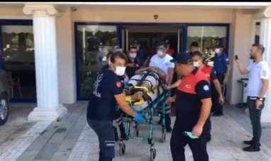 Muğla Ortaca'da Otel'de patlama oldu, ortalık savaş alanına döndü
