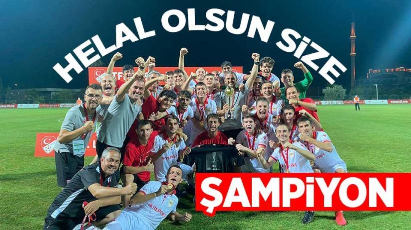 Şampiyon Yılport Samsunspor U19
