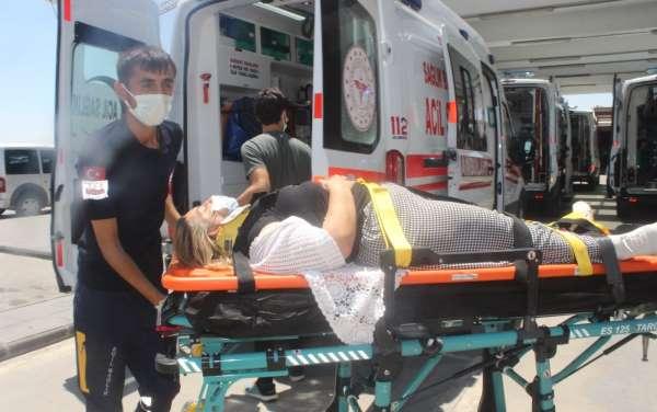 HDPli eski milletvekilinin kullandığı araç kaza yaptı: 7 yaralı