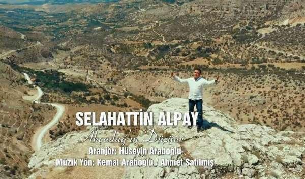 Selahattin Alpayın son klipi Akçadağda çekildi