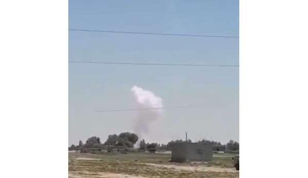 Suriyedeki ABD üssüne füzeli saldırı