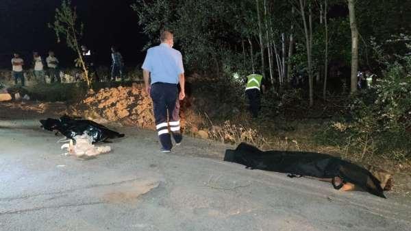 Vanın Muradiye İlçesinde kaçak mülteci taşıyan minibüsün kaza yapması sonucu çok sayıda yaralı ve ölü olduğu