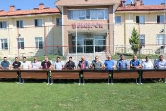 Boluspor'da ilk maç öncesi 1 aylık değerlendirme toplantısı