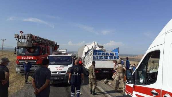 Iğdır'da zincirleme trafik kazası: 3 yaralı
