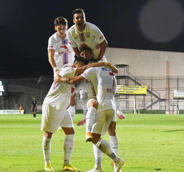 TFF 1. Lig: Menemenspor: 0 - Altınordu: 2