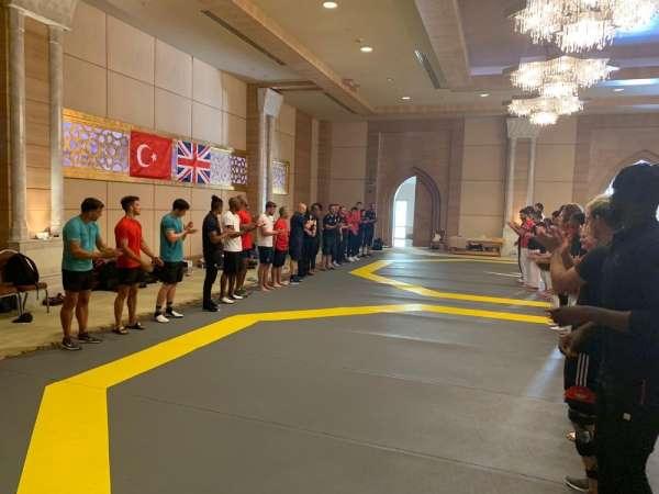 Türkiye - İngiltere ortak çalışma kampı son erdi
