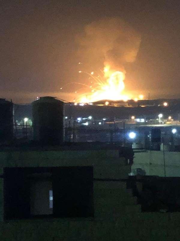 Ürdün'de silah deposunda patlama