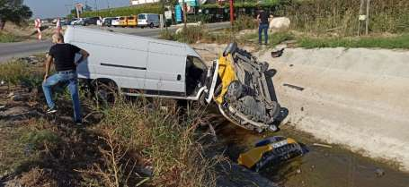 İzmir'de kazada can pazarı: 6 yaralı
