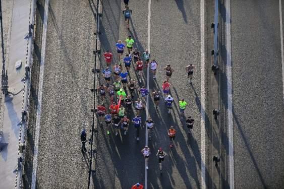 40. İstanbul Maratonu'nda ilk start verildi