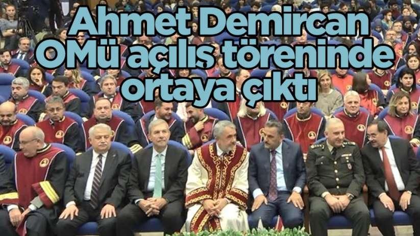AK Parti Samsun Milletvekili Ahmet Demircan OMÜ açılış törenine katıldı