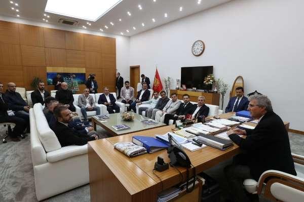 Başkan Yüce: 'Sakaryaspor'un eski günlerine dönmesi en büyük arzumuzdur'