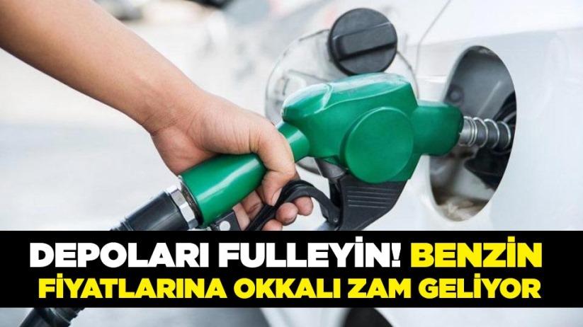 Benzin fiyatlarına okkalı zam geliyor!