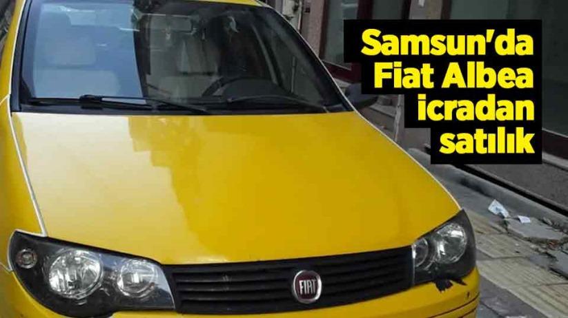 Samsun'da Fiat Albea icradan satılık