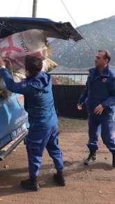 Jandarma'dan yürekleri ısıtan davranış