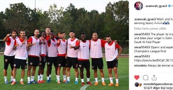 Asamoah Gyan'dan Kayseri'nin tanıtımına büyük destek