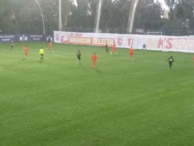 Kayserispor Osmanlıspor maçı yarıda kaldı