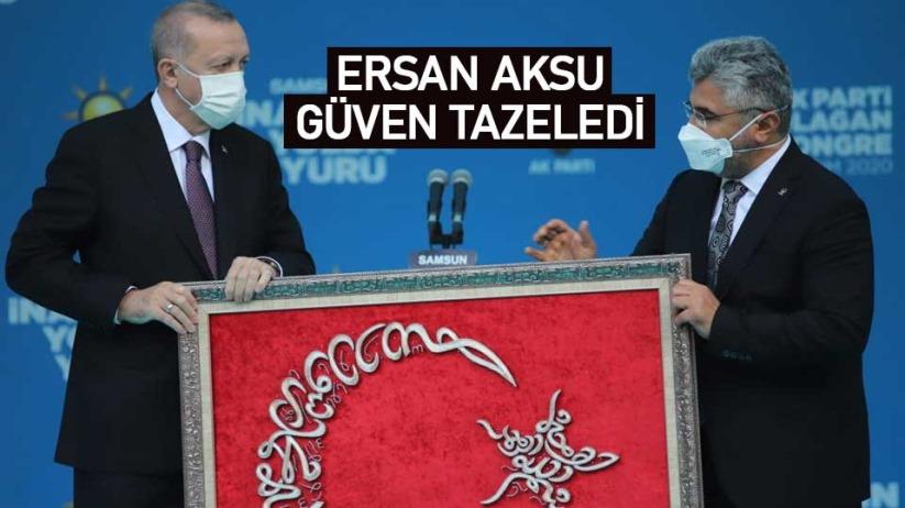 Ersan Aksu, yeniden AK Parti Samsun il başkan seçildi