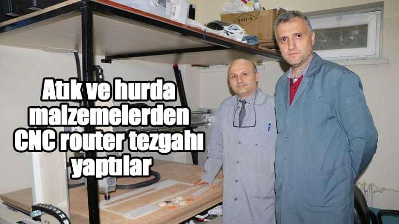 Samsun'da 30 bin TL'lik CNC tezgahını 5 bin TL'ye yaptılar