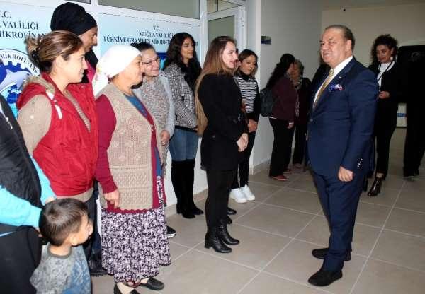 Muğla'da 5 Bin kişiye 16 milyon lira Mikro kredi desteği sağlandı