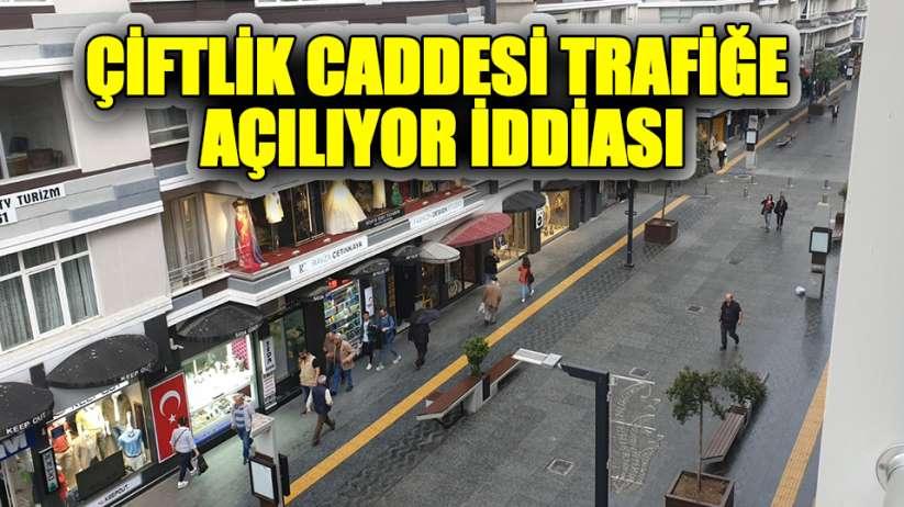 Samsun Çiftlik Caddesi trafiğe açılıyor iddiası