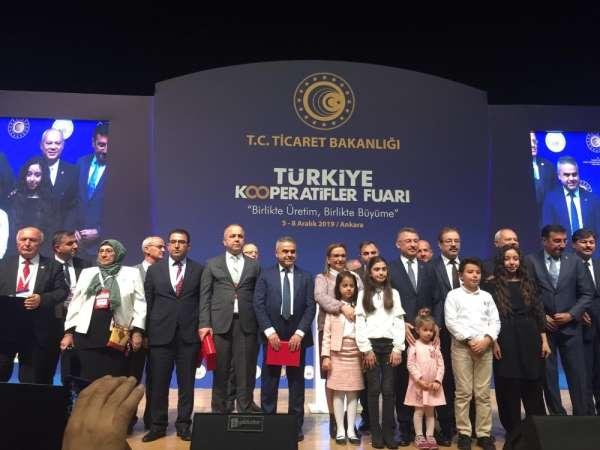 Türkiye Kooperatifler Fuarı'nda Adana stantına yoğun ilgi