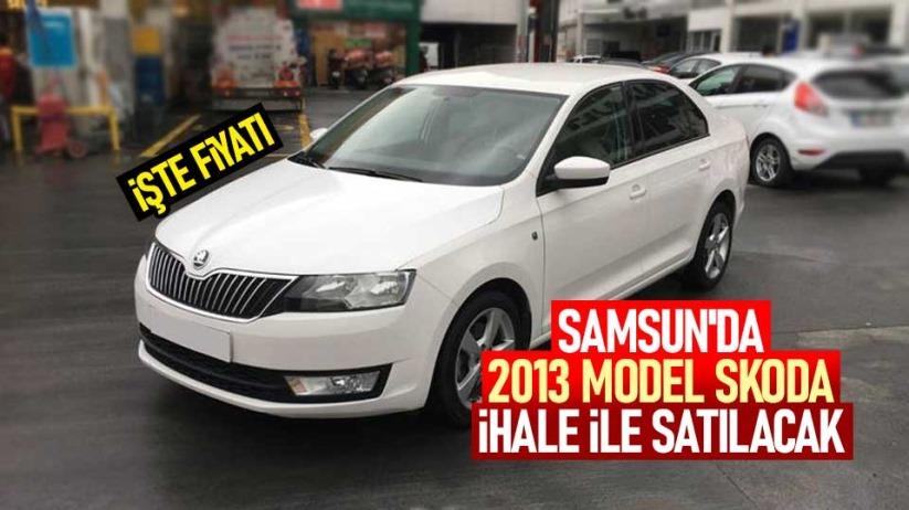 Samsunda 2013 model Skoda ihale ile satılacak