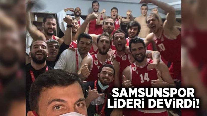 SAMSUNSPOR LİDERİ DEVİRDİ!