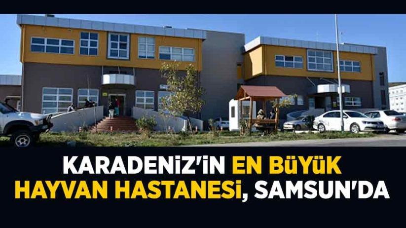 Karadeniz'in en büyük Hayvan Hastanesi, Samsun'da