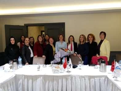 Aydın'da iş kadınlarına fırsat ve imkanlar anlatıldı