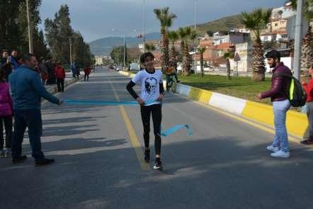 Söke'de Atatürk koşusu yapıldı