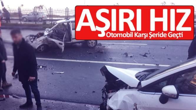 Trabzon'da trafik kazası: 2 yaralı