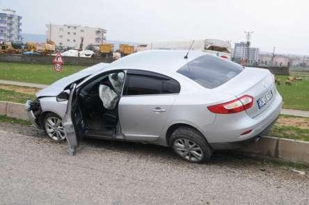 Cizre'de trafik kazası