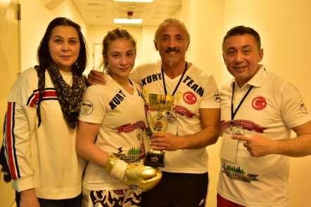 Marmarisli sporcu İlknur Kurt şampiyon oldu