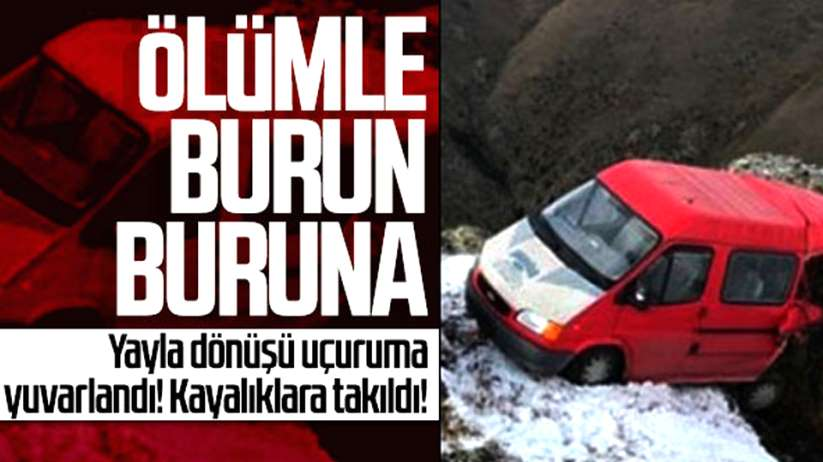 Karadeniz'de korkunç kaza!
