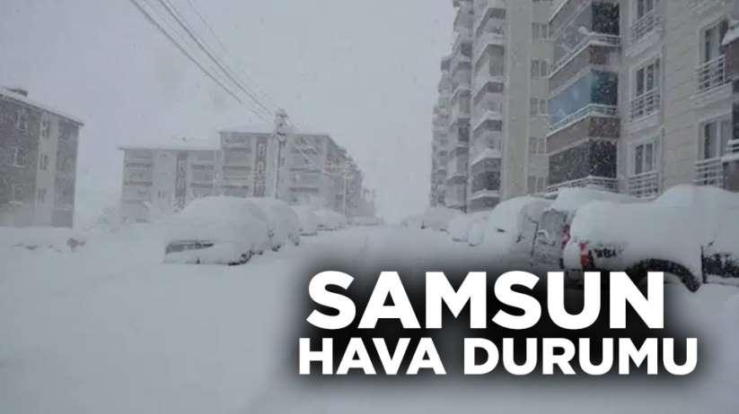 11 Şubat Salı Samsun hava durumu
