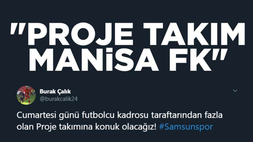 Parodi hesaptan göndermeProje takımı Manisa FK