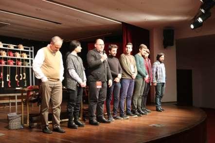 Trabzon Şehir Tiyatrosu büyük alkış topladı