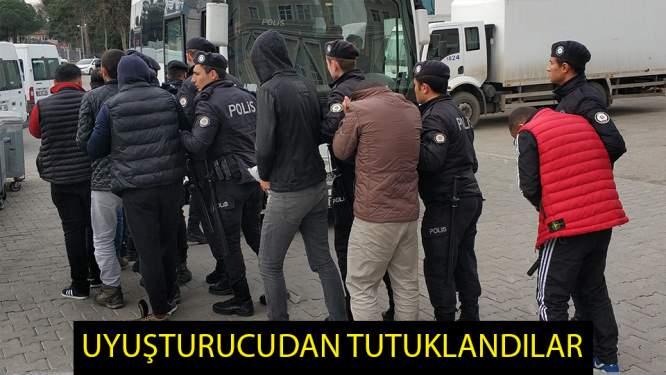 Samsun'da uyuşturucudan 8 kişi tutuklandı