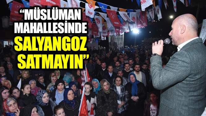 Togar: 'Müslüman mahallesinde salyangoz satmayın'