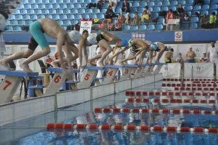 Kayseri'nin yıldız yüzücüleri belli oldu