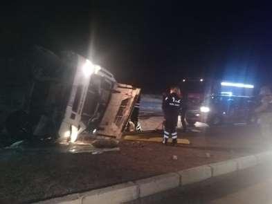 Aşkale'de trafik kazası: 2 yaralı
