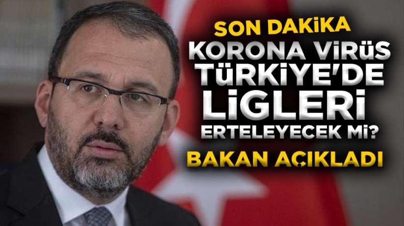 Korona virüs Türkiye'de Futbolu etkileyecek mi?