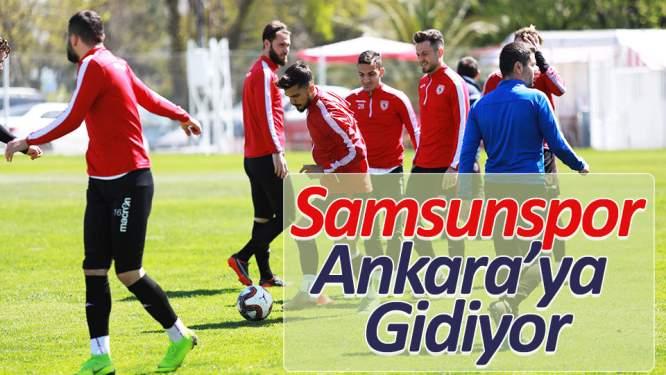 Samsunspor hazırlıklarını sürdürdü
